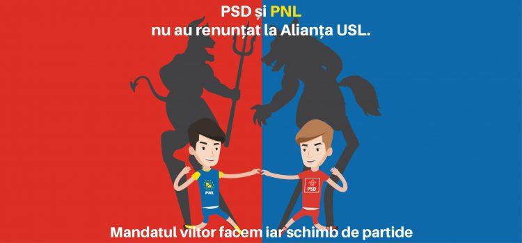 F. Bulearca: Domnilor PSD-iști ȘI PNL-iști, politica nu este un joc de fotbal! PSD și PNL nu au renunțat la USL