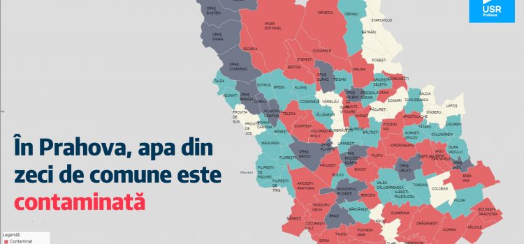 Apă contaminată, în zeci de comune din Prahova, conform unei investigații Recorder.ro