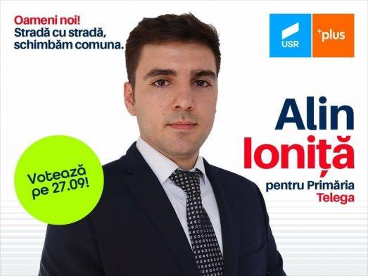 La Telega mergem la Primărie cu entuziasmul și dinamismul tinereții lui Alin Ioniță