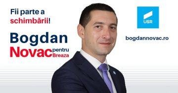 NOVAC BOGDAN CRISTIAN, candidat la funcția de primar, Primăria Breaza