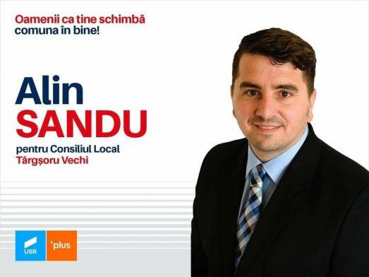 Alin Sandu candidează la Consiliul Local Târgșoru Vechi