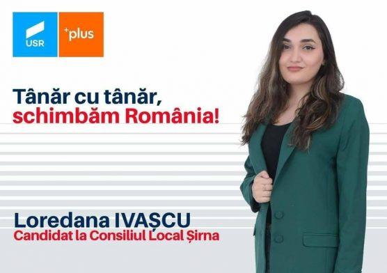 Loredana Ivașcu, tânăra care vrea să schimbe Șirna, din Consiliul Local