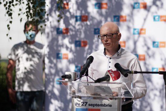 """Claudiu-Remus Minea, candidatul USR Plus la Primăria Mizil: """"Toţi ne dorim să locuim într-un oraş plin de oportunităţi şi cu o bună calitate a vieţii"""""""