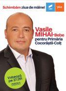 Mihai Vasile Bebe, candidarul USR Prahova la Cocorăștii Colț