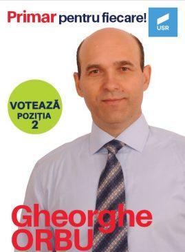 ORBU GHEORGHE – candidat la funcția de primar, Primăria Ariceștii Rahtivani
